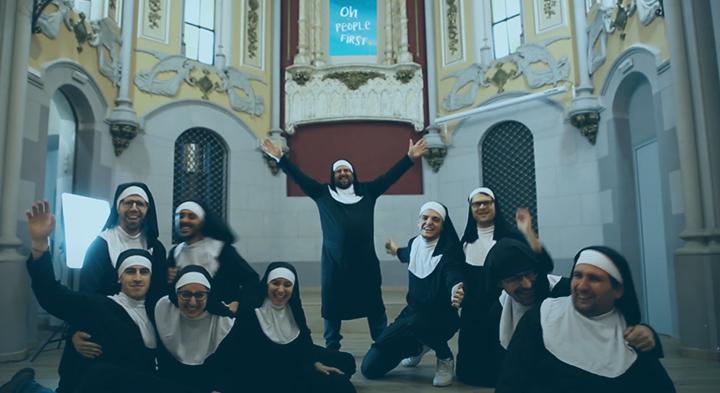 """L'equip Eurofirms protagonitza la millor versió d' """"Oh People first""""!"""