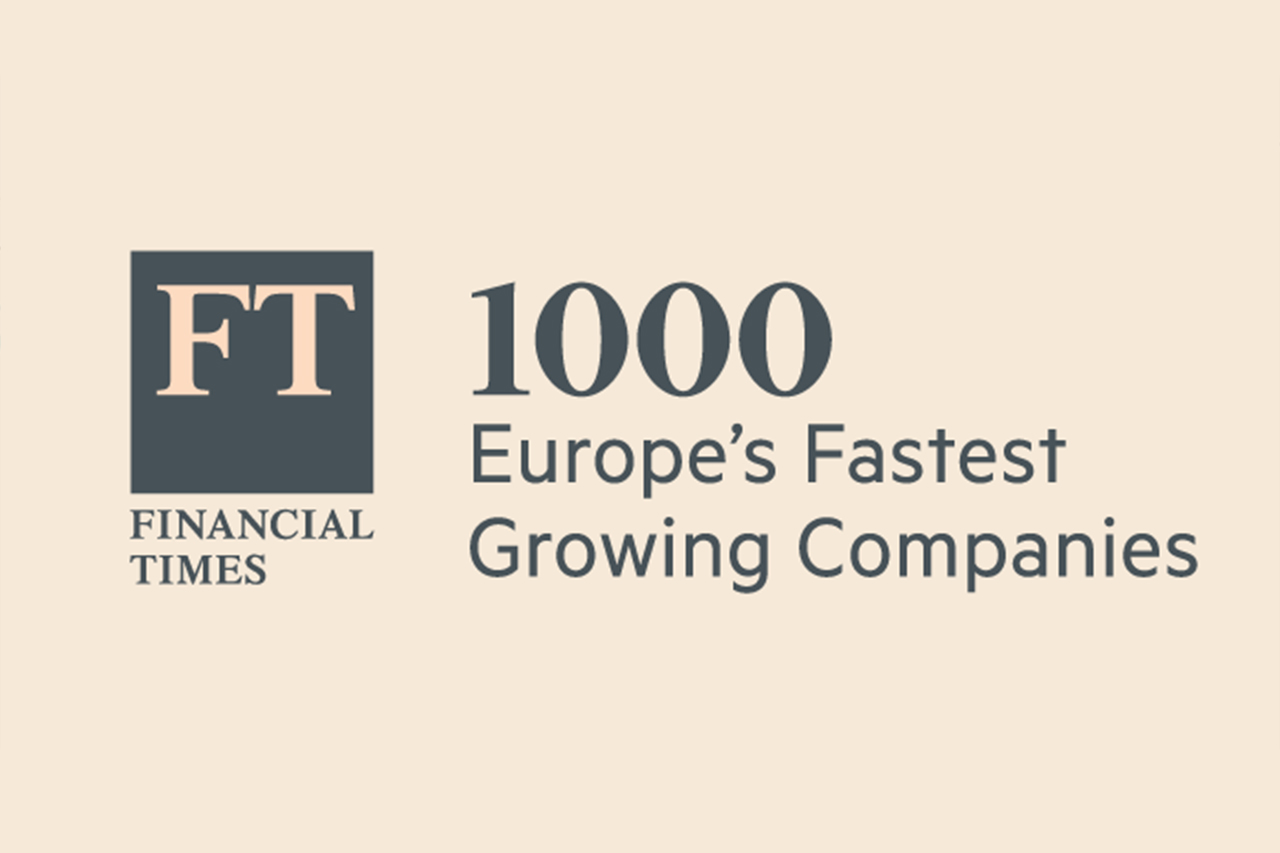 Eurofirms has been recognised as one of Europe's 1,000 fastest-growing companies, according to The Financial Times