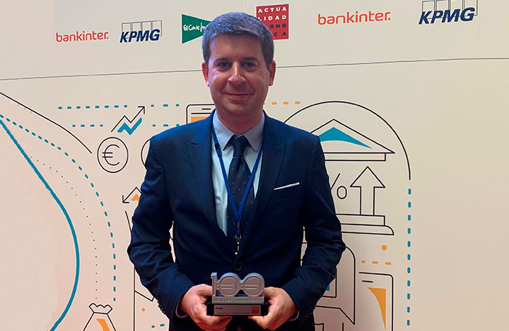 Francesc Cots, Chief Financial Officer of Eurofirms Group, recognized as one of the 100 best financiers