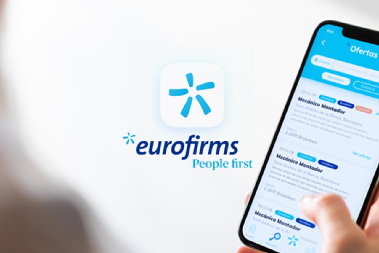 Eurofirms estrena nova app per facilitar la recerca de feina